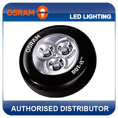 new osram black dot it classic led stick on light torch. Black Bedroom Furniture Sets. Home Design Ideas