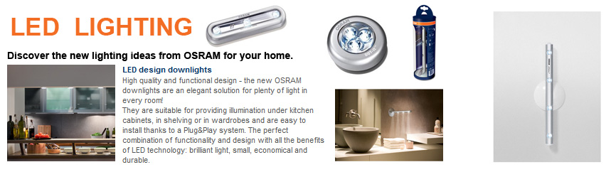 new osram black dot it classic led stick on light torch. Black Bedroom Furniture Sets. Home Design Ideas