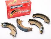 Peugeot 106 Rear Brake Shoes S1 XSI RALLYE Ferodo FSB188