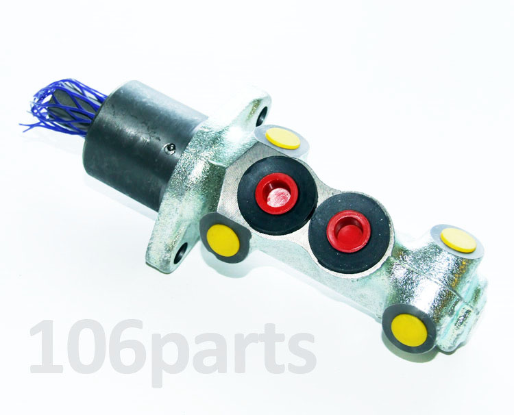 106 Brake Master Cylinder 20.6mm 4-Port S1 1.0 1.1 no ABS Firstline FBM4024