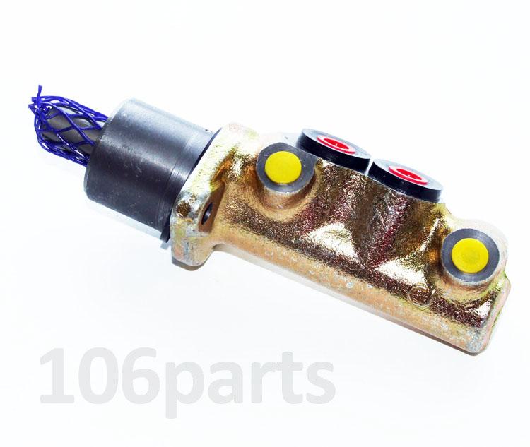 106 Brake Master Cylinder 19.0mm 4-Port S1 1.0 1.1 no ABS Firstline FBM4178