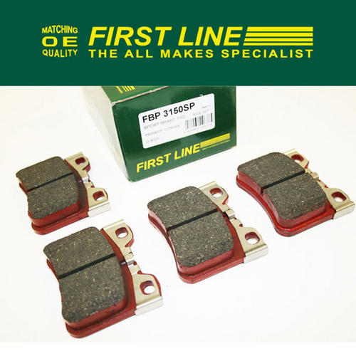 Peugeot 106 Sports Front Brake Pads 106 1.0 1.1 1.4 ATE Firstline FBP3150SP Thumbnail 1