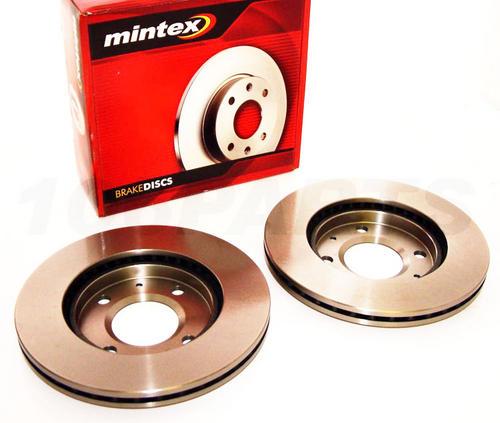 Peugeot 106 Mintex 247mm Vented Front Brake Discs GTI RALLYE VTS Mintex M1144 Thumbnail 1