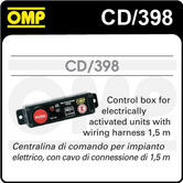 CD/398 OMP FIRE EXTINGUISHER CONTROL BOX for ELECTRICALLY ACTIVATED SYSTEM NEW!