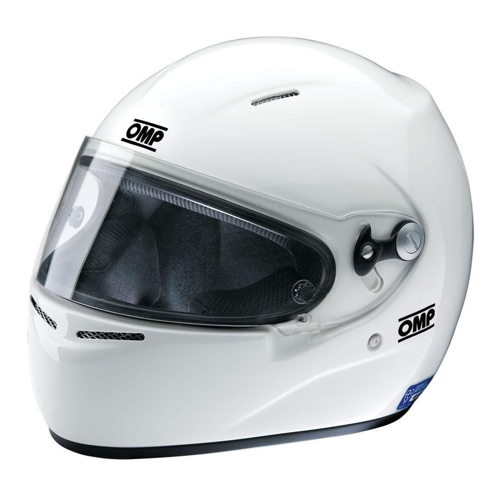 Sc724 Omp Super Kart Full Face Helmet S 55 57cm Blue Label