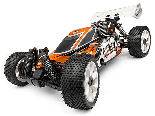 RADIO CONTROL HPI PULSE CLEAR on HPI PULSE 4.6 BUGGY RTR 2.4GHZ [101708]