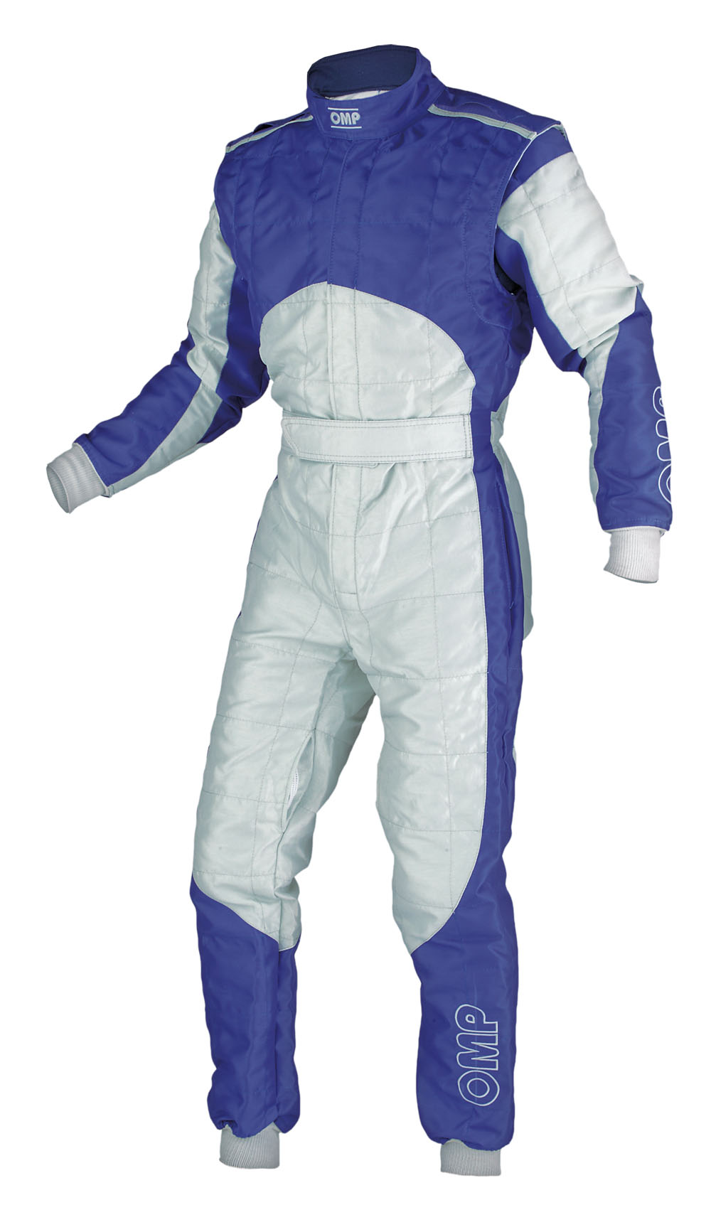 Sale Kk01710 Omp Thunder Kart Suit Fia Size 36 Grey Blue