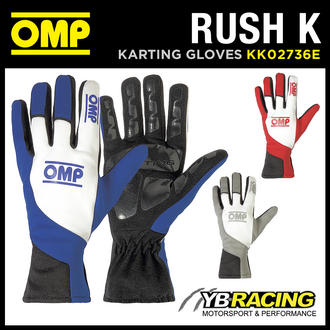 View Item KK02736E OMP RUSH K KART GLOVES