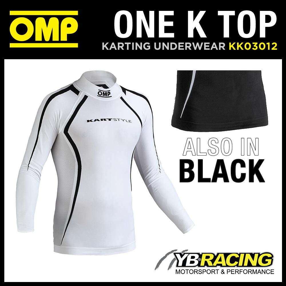 KK03012 OMP ONE K LONG SLEEVED KART TOP