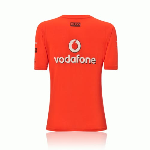 Sale female team victory t shirt womens 2013 vodafone for Mercedes benz t shirts sale