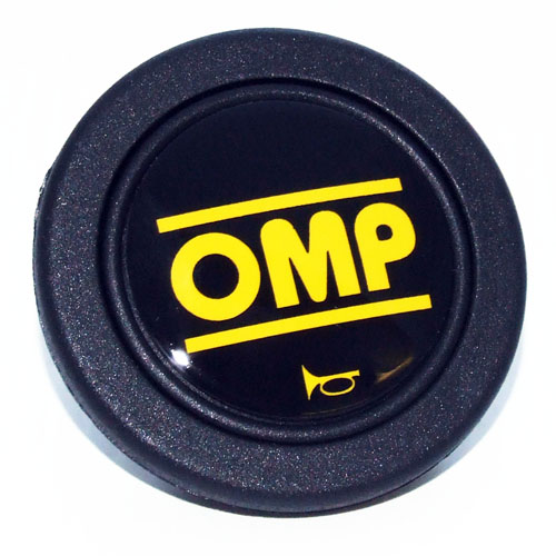 View Item OD/1960 NEW OMP HORN BUTTON PUSH FOR OMP STEERING WHEEL CENTRE 60mm 2 CONNECTORS