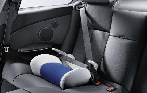bmw junior baby child kid car seat black anthracite iii. Black Bedroom Furniture Sets. Home Design Ideas