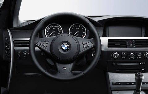 Bmw Genuine M Steering Wheel Cover Trim E60 E61 E63 E64 5