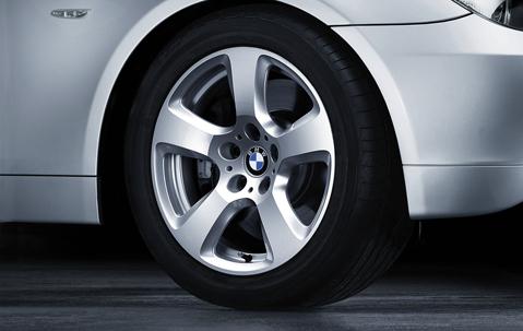 1x Bmw Genuine Alloy Wheel 17 Quot Star Spoke 243 Rim E60 E61