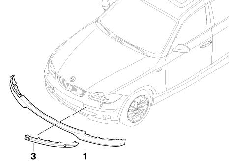 ford e series fuse diagram bmw genuine front lower bumper grille panel trim primed ... ford e series front bumper diagram