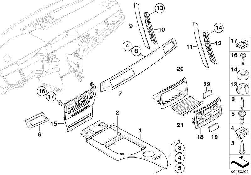 bmw e60 interior trim diagram  bmw  free engine image for