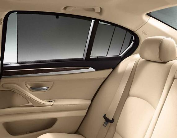 Bmw Genuine Rear Side Windows Sun Blind Shade Screen F10 5