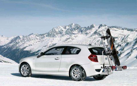 Bmw Ski >> BMW Genuine Rear Carrier Rack Ski/Snowboard Holder 1/3