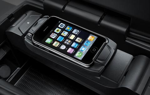 bmw genuine apple iphone 3g 3gs music snap in adapter cradle holder 84212158683 ebay. Black Bedroom Furniture Sets. Home Design Ideas