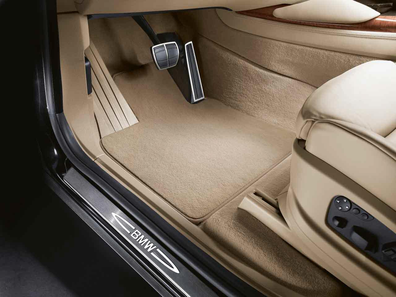 bmw genuine car floor mats set velour beige e53 x5 51478250040 ebay. Black Bedroom Furniture Sets. Home Design Ideas