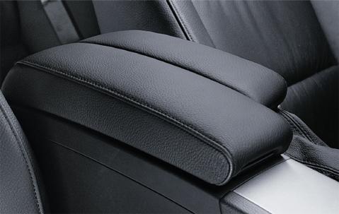 Bmw Genuine Centre Armrest Imitation Leather Black E90 91