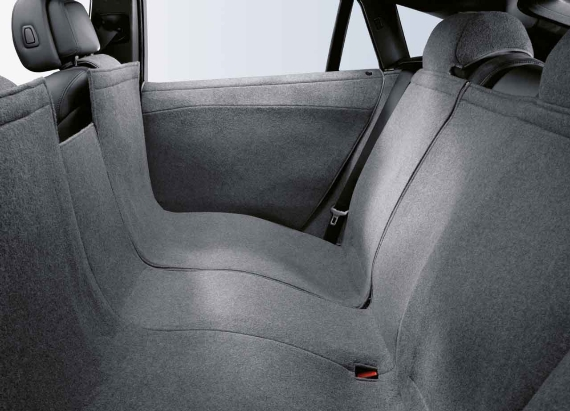 Bmw Genuine Rear Back Seat Protector Cover Anthracite E71