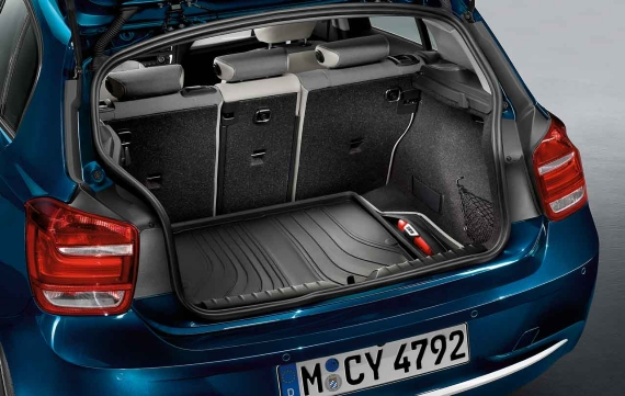 bmw genuine fitted boot trunk mat protector cover urban f20 1 series 51472219975. Black Bedroom Furniture Sets. Home Design Ideas