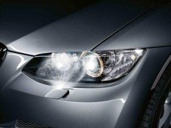 Bmw Genuine M Sport Headlight Washer Cover Left E92 E93 3