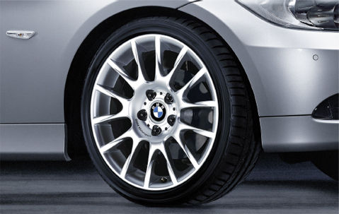 1x Bmw Genuine Alloy Wheel 18 Quot Radial Spoke 216 Front E90