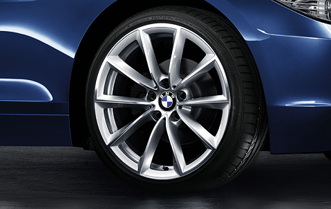 1x Bmw Genuine Alloy Wheel 19 Quot V Spoke 296 Rear Rim E89 Z4