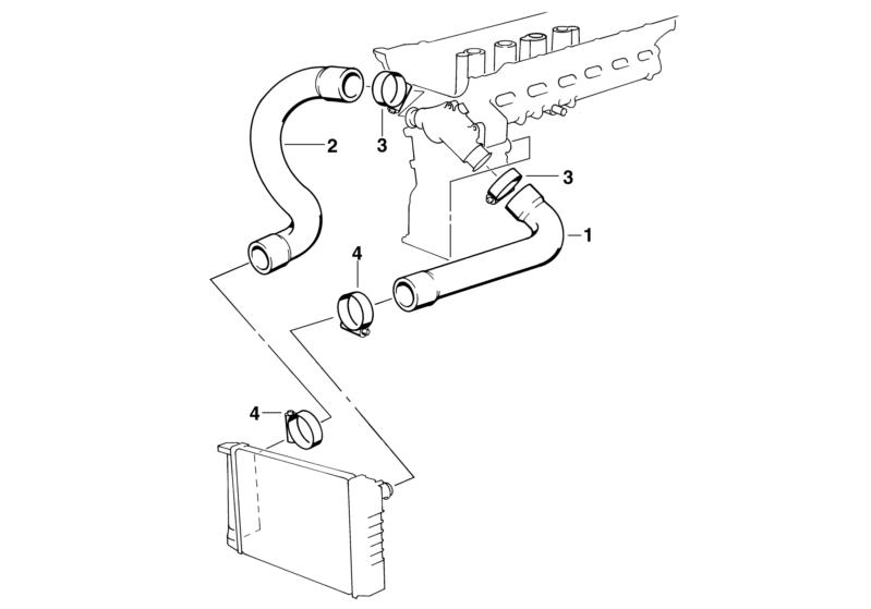 95 325i Cooling System Diagram