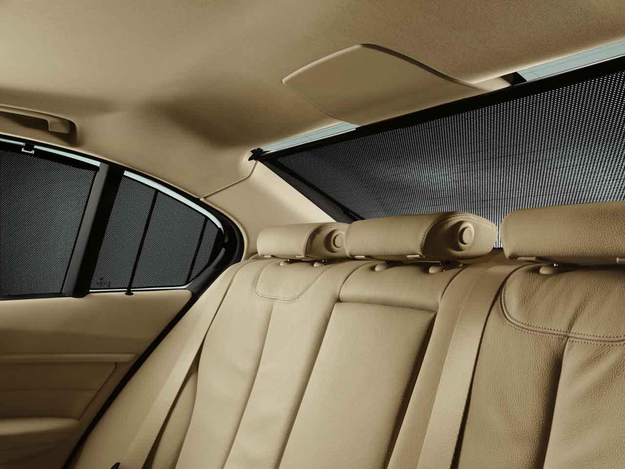 Bmw Genuine Rear Side Window Sun Blind Shade Screen Set
