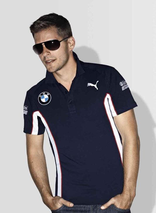 BMW Genuine Motorsport Collection Mens DTM Team Polo T ...