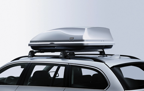 bmw genuine roof box luggage cargo storage 350 litres silver 82730391366 ebay. Black Bedroom Furniture Sets. Home Design Ideas