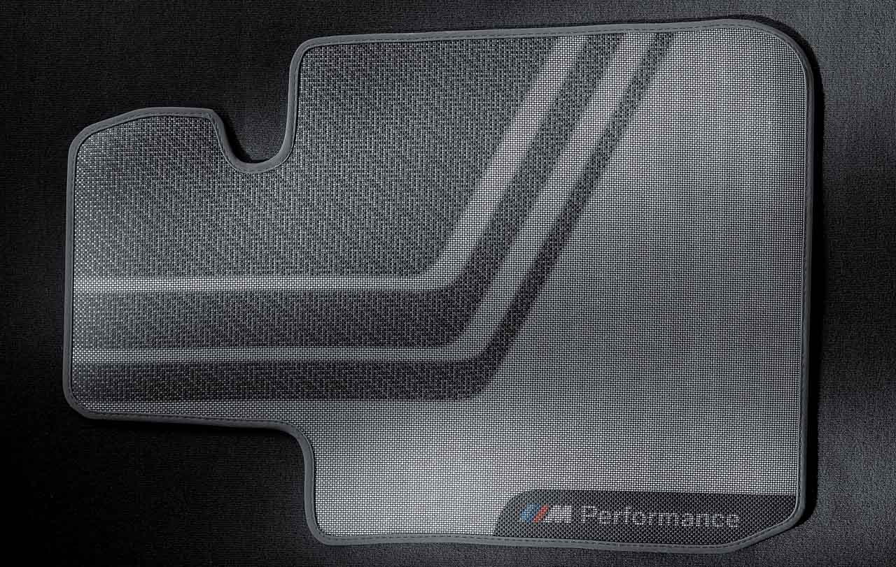Bmw 5 Series Rubber Matsbmw Rear Floor Mats 2011 M Performance Genuine Front Set F20 F21 1