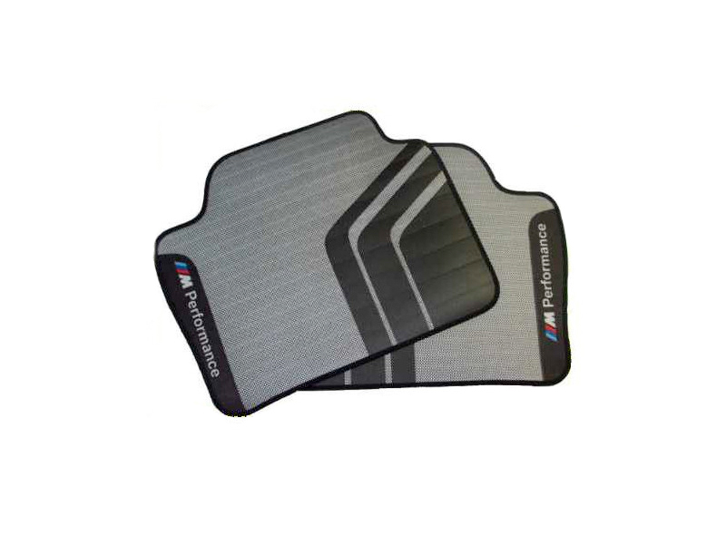 bmw m performance genuine rear sport floor mats set f20 1 With bmw m sport floor mats