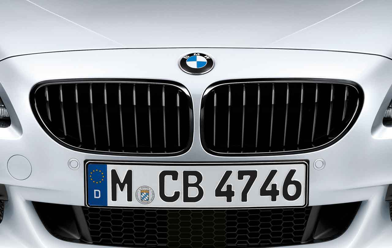 Bmw M Performance Genuine Front Right Grille Black F06 F12