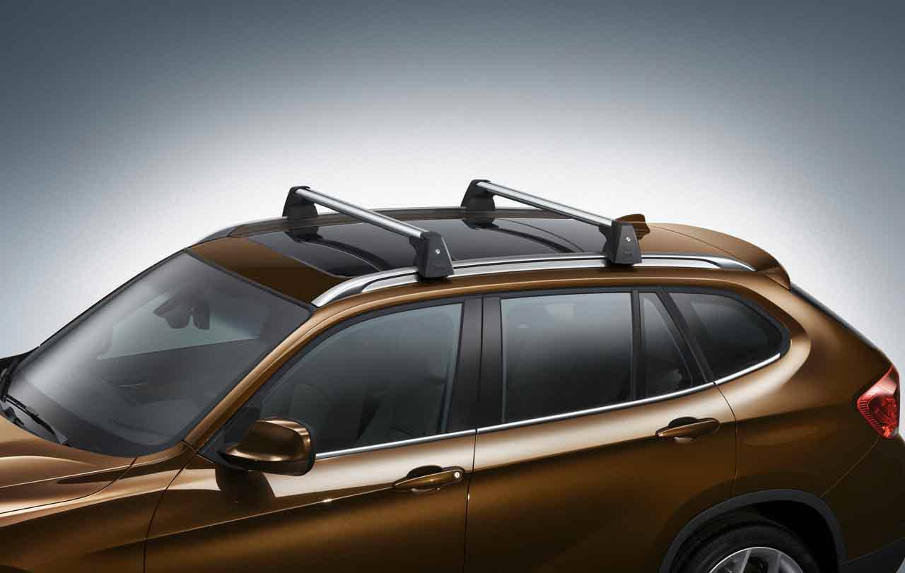 Bmw Genuine Roof Rack Base Support System Bars E84 X1