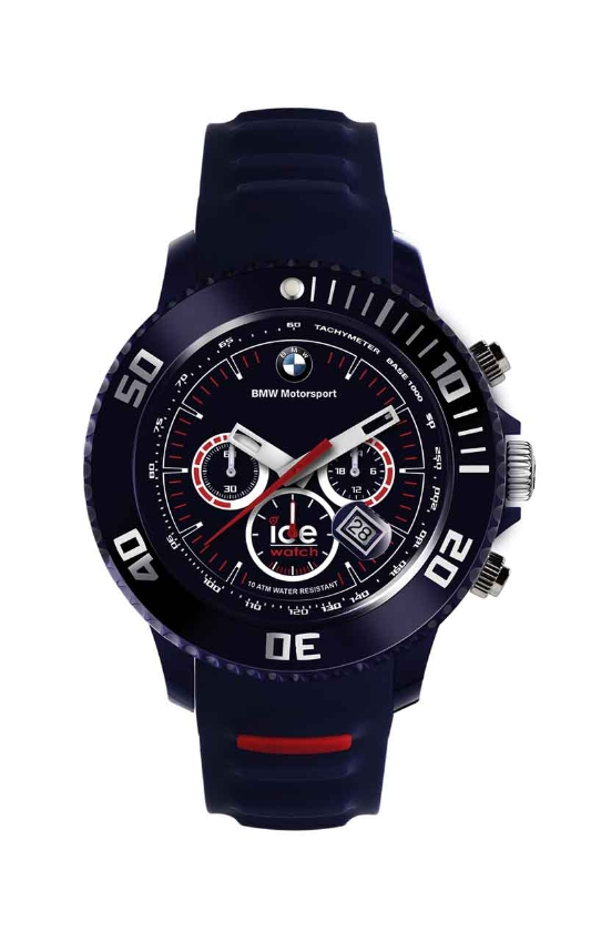 bmw genuine motorsport ice watch chrono silicone blue. Black Bedroom Furniture Sets. Home Design Ideas