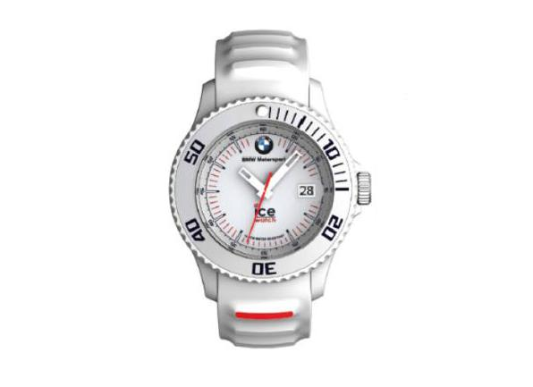 bmw genuine motorsport ice watch silicon white unisex. Black Bedroom Furniture Sets. Home Design Ideas