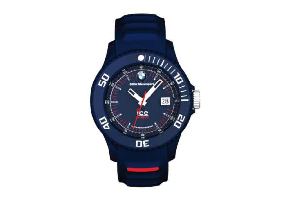 bmw genuine motorsport ice watch silicon blue unisex. Black Bedroom Furniture Sets. Home Design Ideas