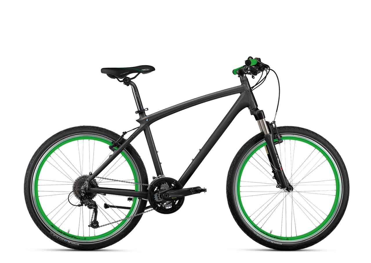 Bmw Genuine Cruise Bike Anthracite Green Bicycle Ebay