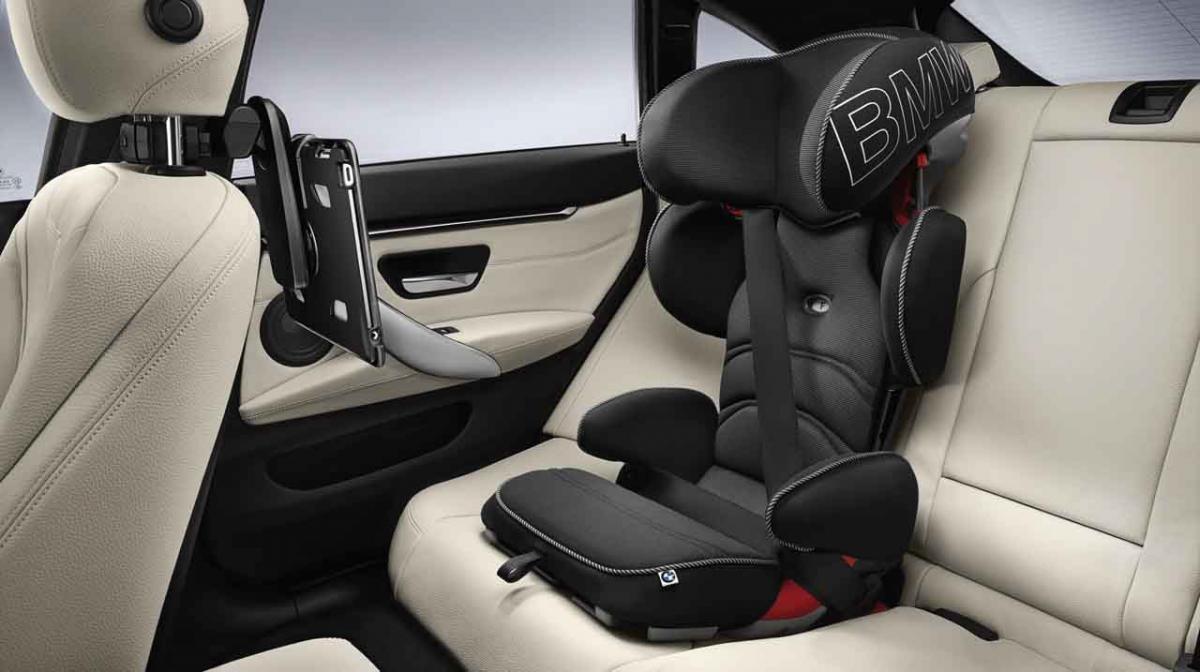 Bmw Genuine Baby Child Kid Junior Car Seat Black Blue Ii