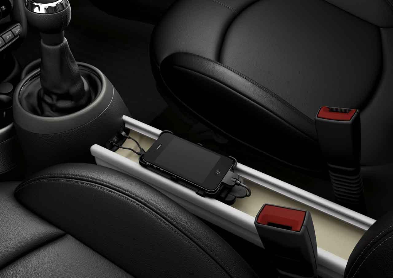 Mini genuine centre console mobile phone adapter cradle - Mini countryman interior accessories ...