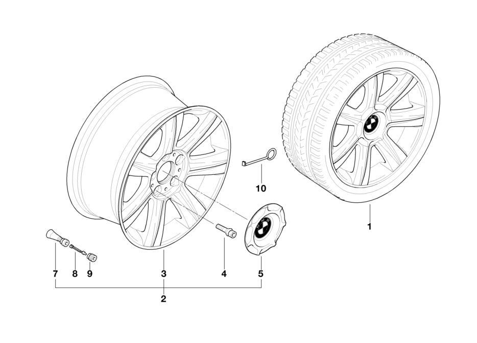 bmw genuine wheel cover hub cap e36  e46 3 series