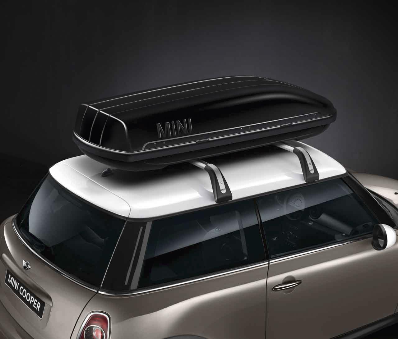 MINI Genuine Roof Box / Storage Travel Container Black 320 ...