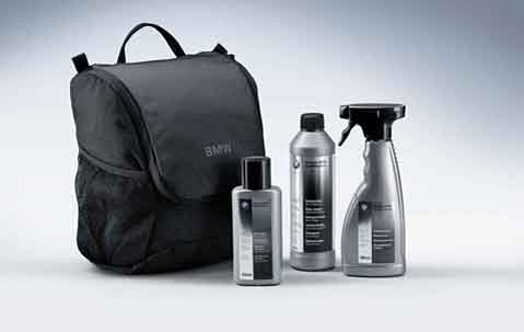 Bmw genuine car exterior interior winter care kit set ebay for Professional car interior detailing kit