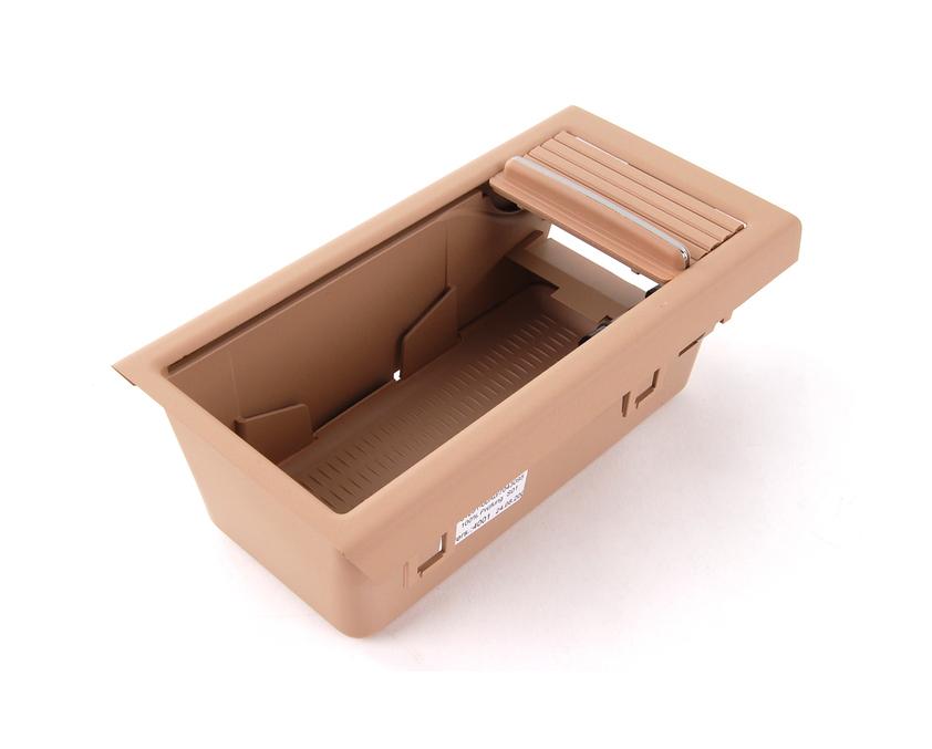 bmw centre armrest tray storage roller cover beige e46 3. Black Bedroom Furniture Sets. Home Design Ideas