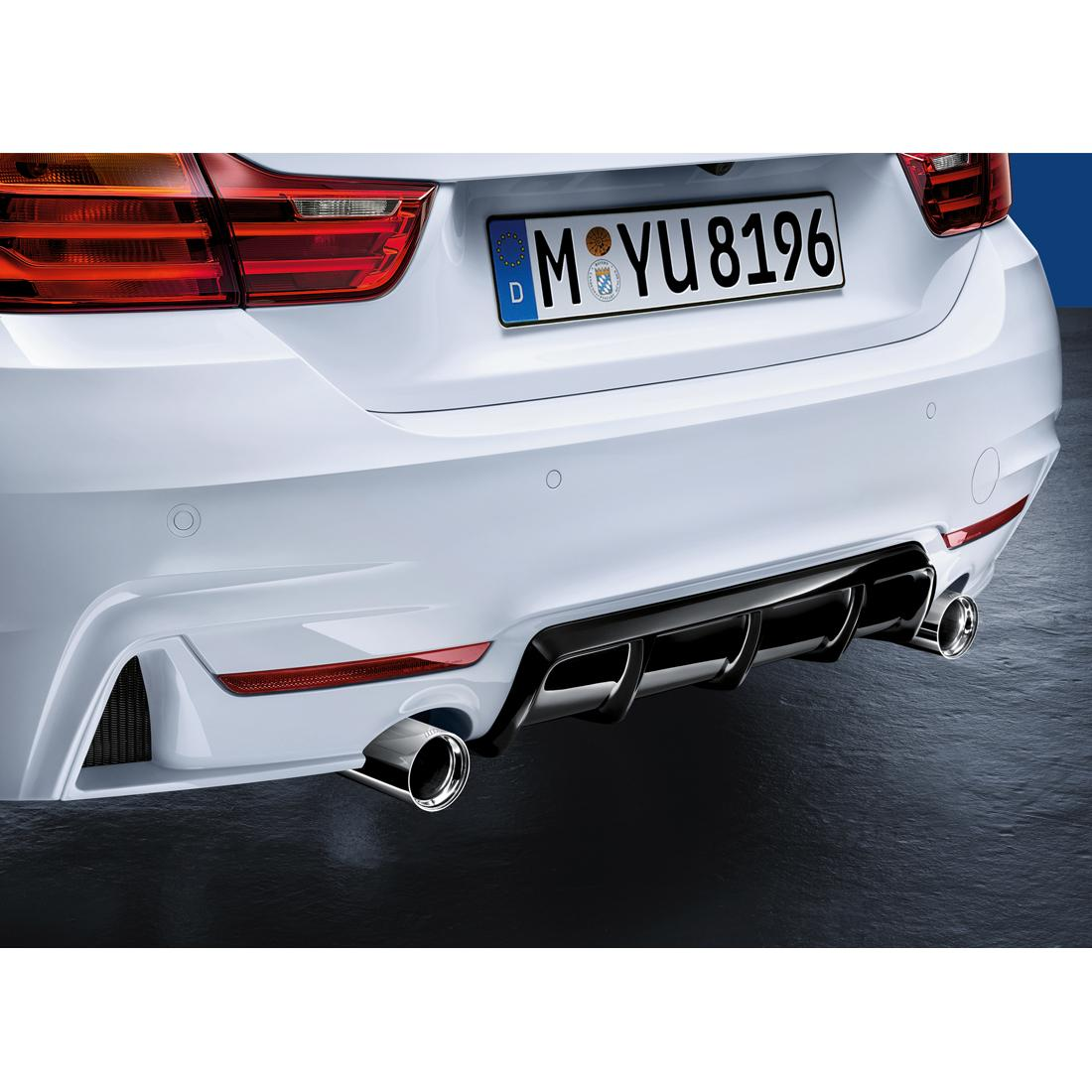 Bmw M Performance Genuine Rear Diffuser F32 F33 F36 4