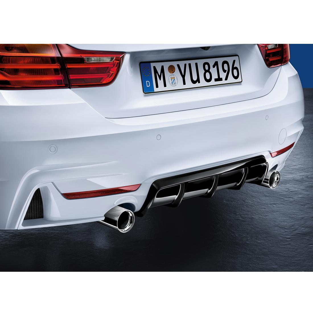 BMW M Performance Genuine Rear Diffuser F32 / F33 / F36 4